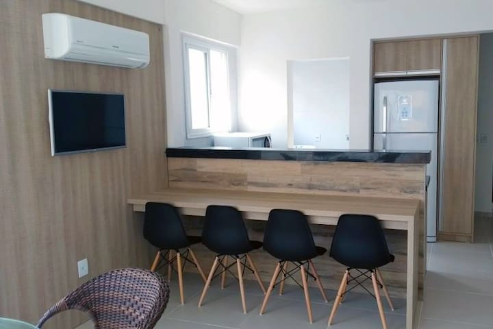 Apartamento novo pertinho do mar de Capão