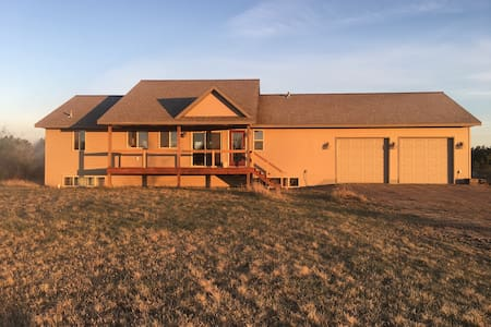 Newer country home 5 min from town.