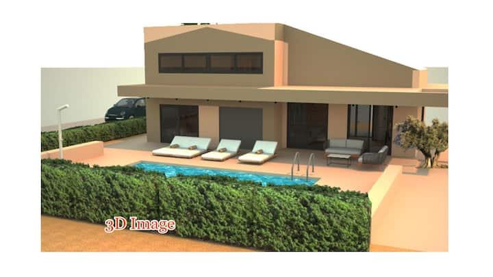 Taf Boutique Villa Alexandros Private Pool, Tigaki