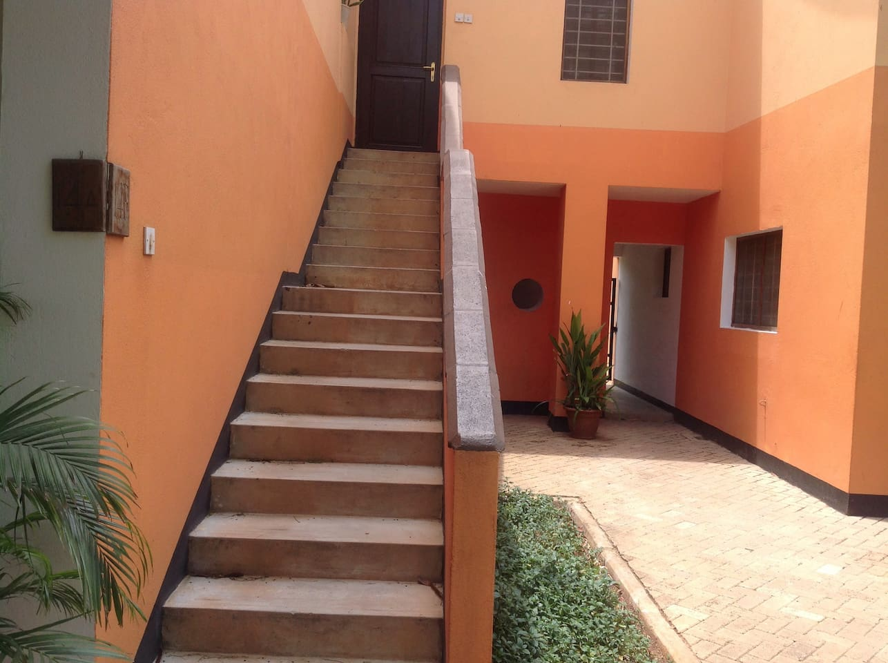 Single room apartment upstairs
