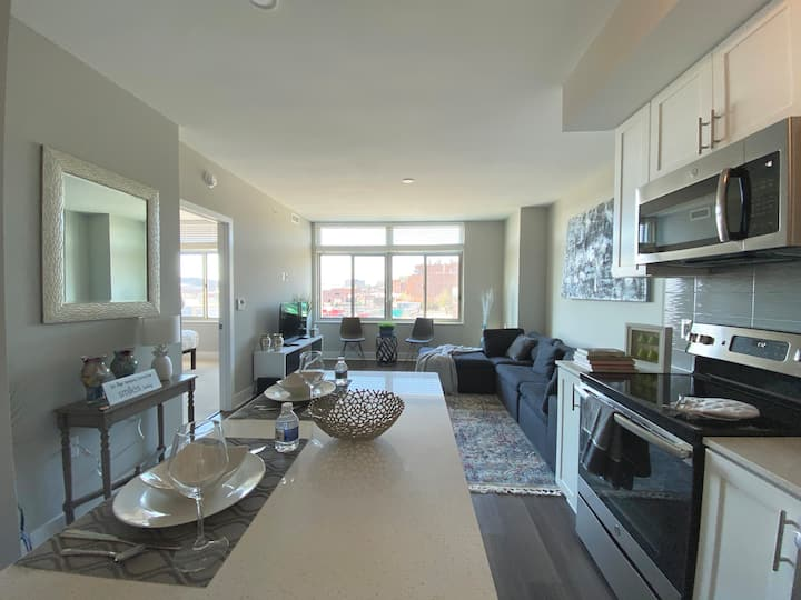 Elegant & Luxury 2BR In Arlington| DCA,Bus & Metro