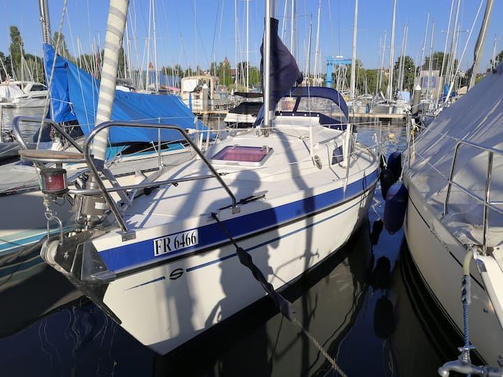 Segelboot 30 Fuss 10m x 3m