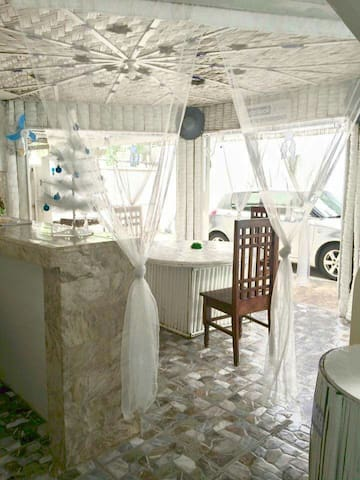 All-White Private Hot Spring Villa: 12-Hr Use