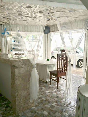 All-White Private Hot Spring Villa: 12-Hr Use