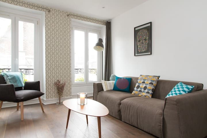 Cosy flat in trendy Canal St Martin