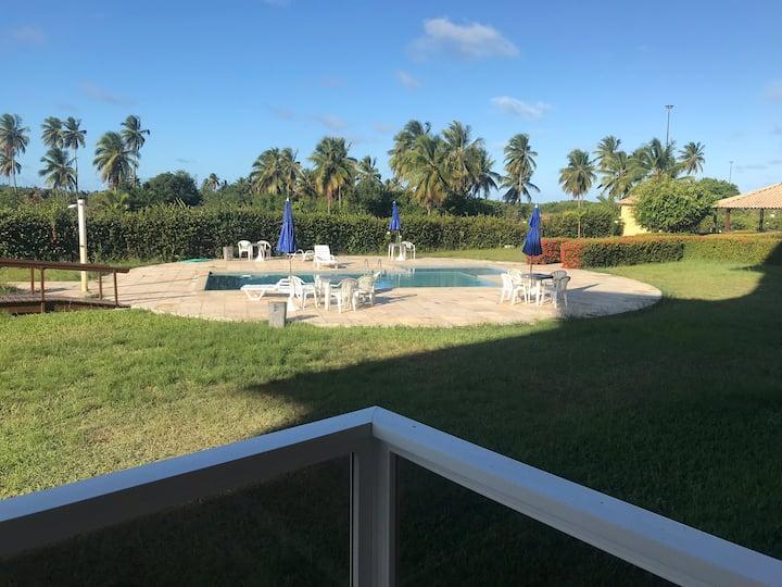 Flat mobiliado no condomínio Gavôa Resort, 101