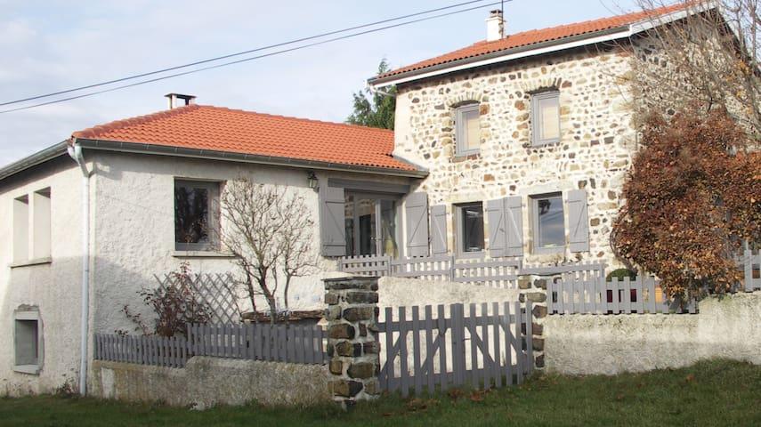 Maison à louer à la semaine.