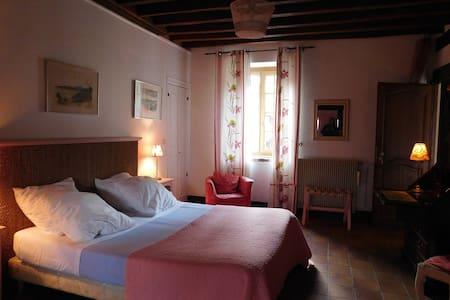 Althaea Chambres d'hotes La rose - La Ferté-Saint-Cyr - Rumah Tamu