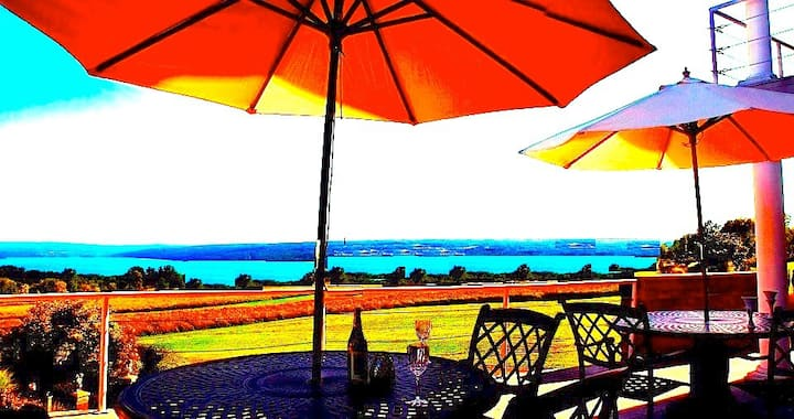 FingerLakes Cayuga Lake Inn 'Play Tuscany'