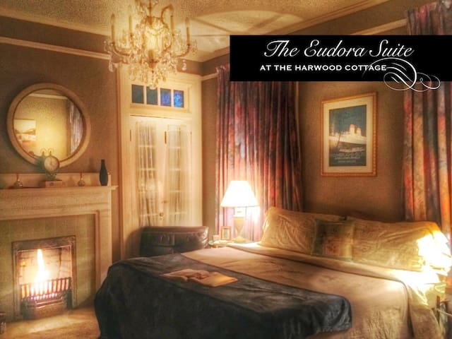 The Harwood Cottage Eudora Suite - Macon - 獨棟