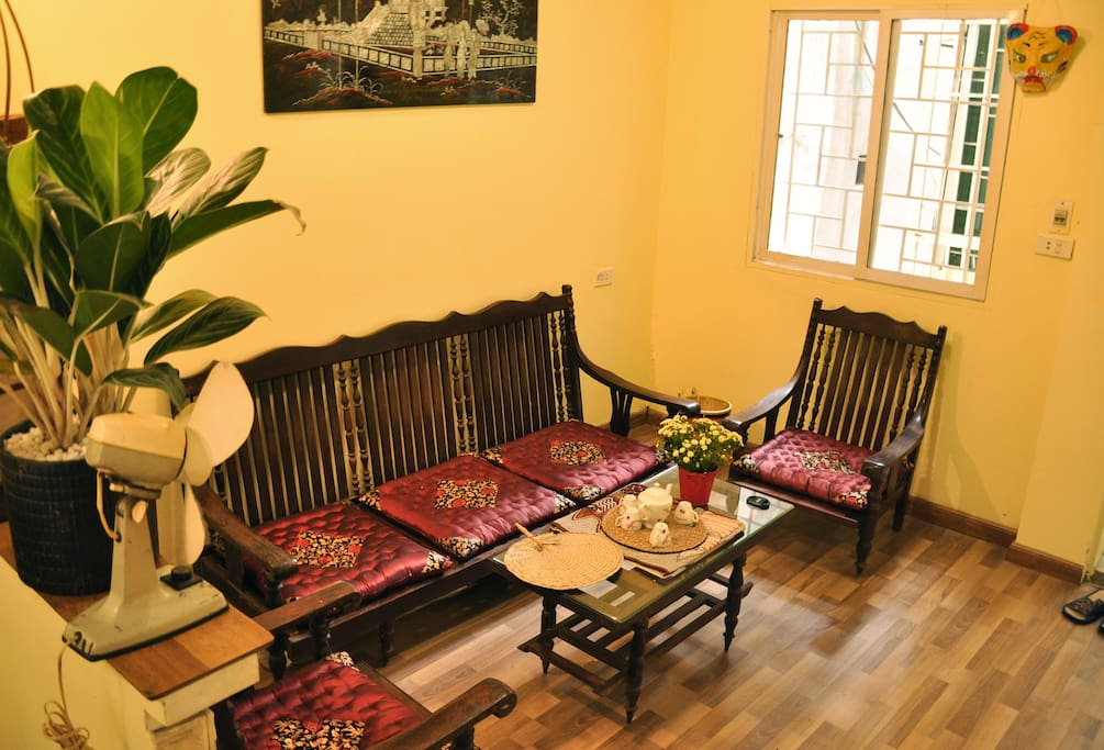 Living room with French-Indochina style