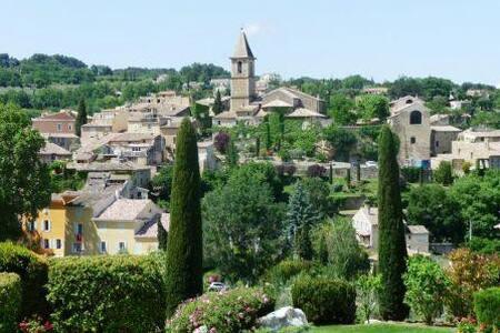 """Gîte """"Calme et Soleil"""" en Drôme Provençale - Mirabel-aux-Baronnies - 公寓"""