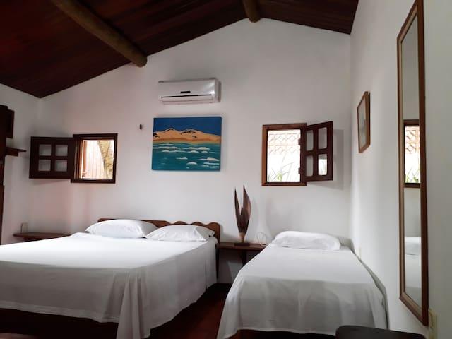 Casa Água Marinha - Quarto Pérola