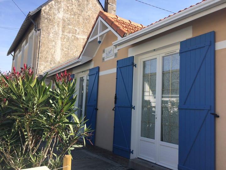 Maison au calme proche de la plage/centre-ville