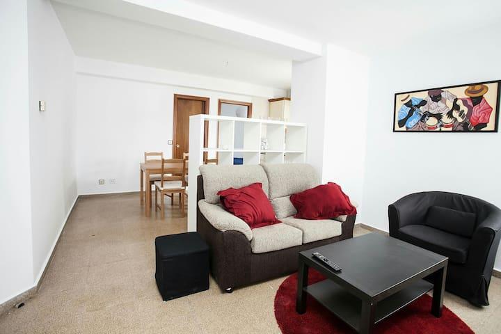 Amplio apartamento dos habitaciones - Posada de Llanes - Apartemen