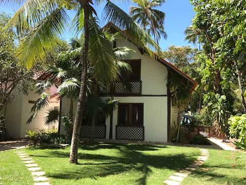 Casa à beira mar no paraíso Praia de Serrambi