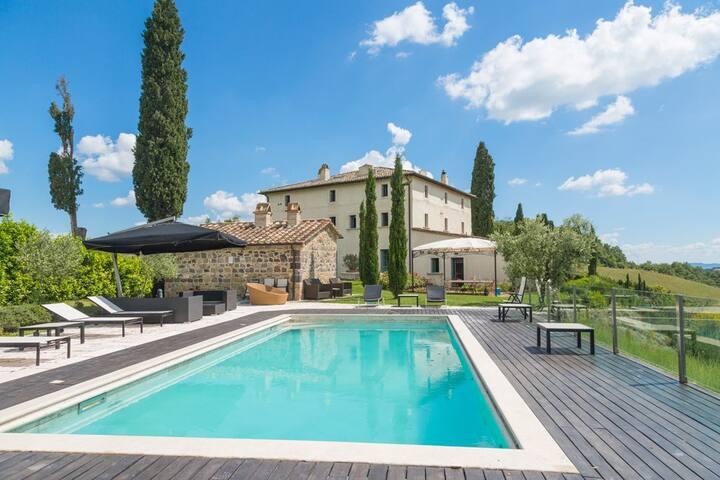 Villa in Tuscan hills - Celle Sul Rigo - House