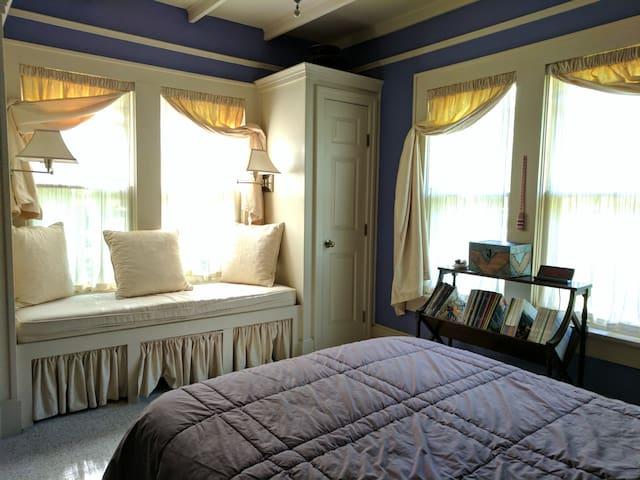 Delightful reading nook - downstairs bedroom