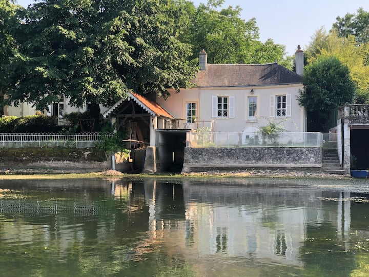 Maison du pêcheur XVIII e siecle