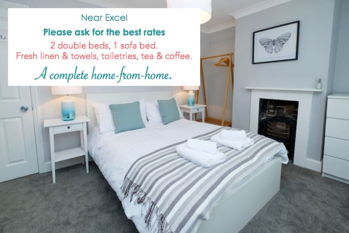 Nr. Excel: A home from home with garden, sleeps 5