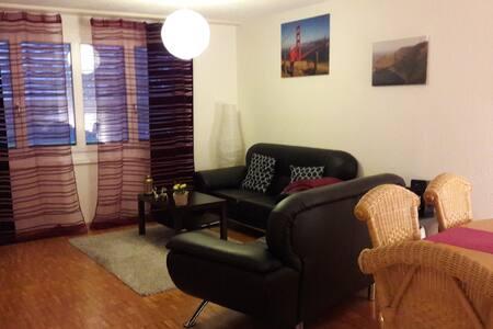Gepflegte Wohnung in ruhiger Lage mit Bahnhofsnähe - Amriswil - Apartament