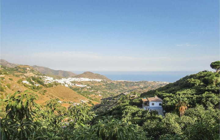 Awesome home in Frigiliana with WiFi and 3 Bedrooms