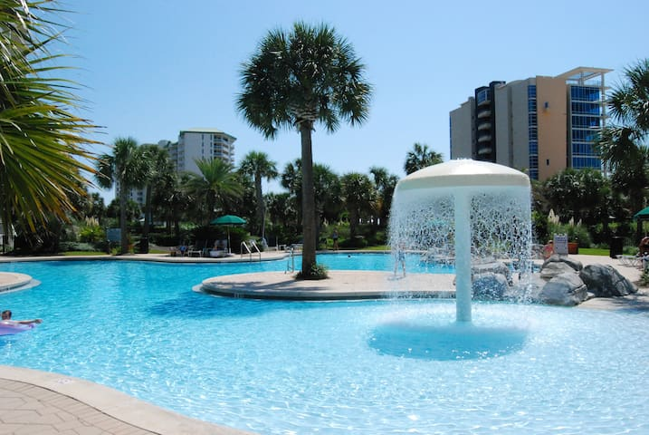 Sterling Shores 3 bedroom 2 bath Gulf Front condo.
