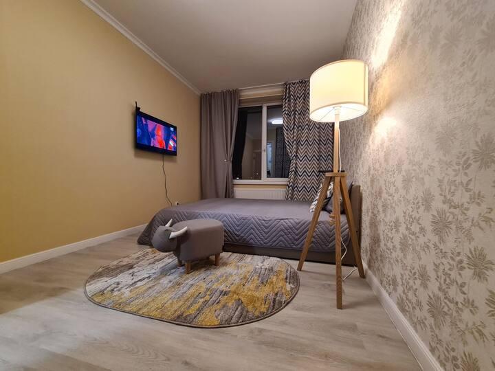Comfortable apartments Sputnik near Crocus