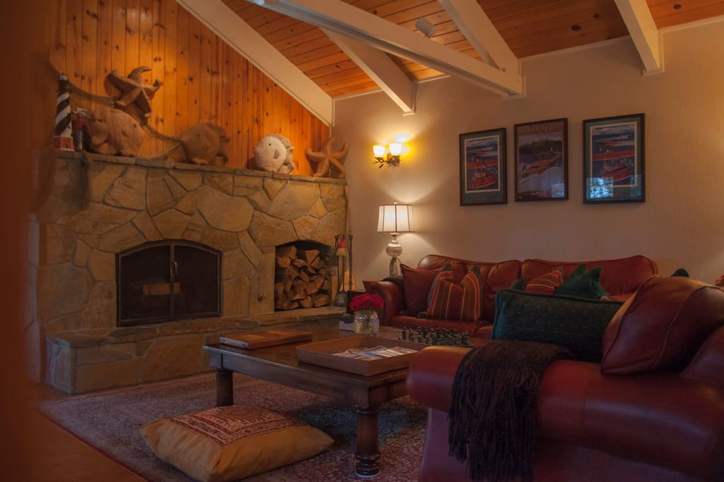 Fire place / TV and Family Room