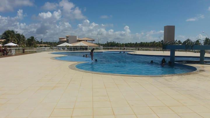 Apto temporada Abais-Praia do Saco Cond. Clube