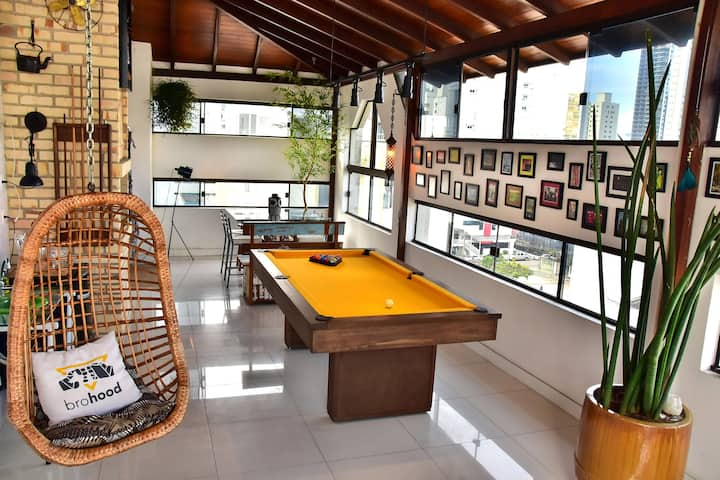Quarto em Cobertura Duplex - Balneário Camboriú