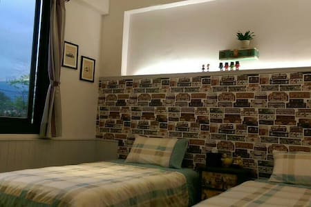 *花蓮小阿姨的家*雅緻雙人房(單人床2張)獨立衞浴  另有二個房源提供 - Hualien City - Bed & Breakfast