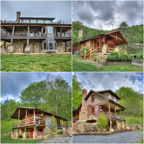 Three Bear Holler; awesome views, privacy and event space! Skiing, hiking, etc.