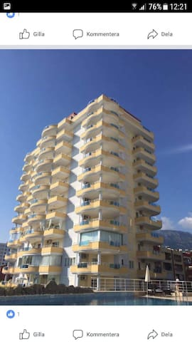 3room apartment(centre of the city,near the beach)