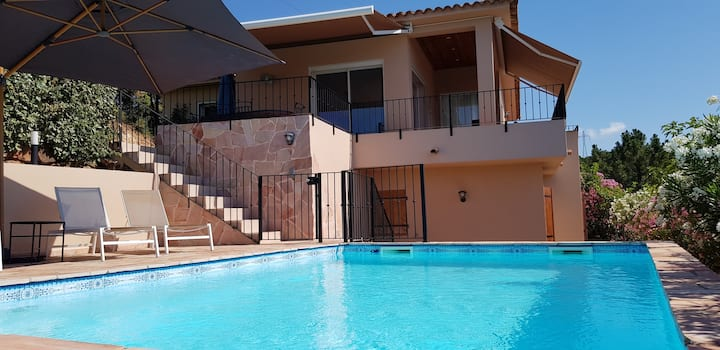 Villa 135m2 avec piscine,superbe vue panoramique