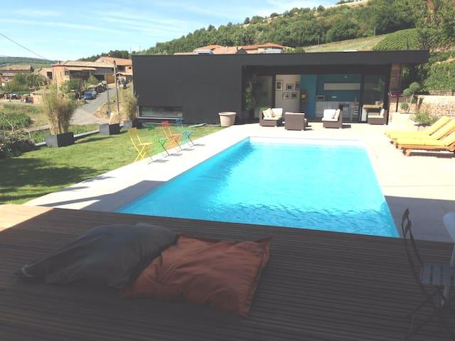 Loft avec piscine du Domaine des Crais