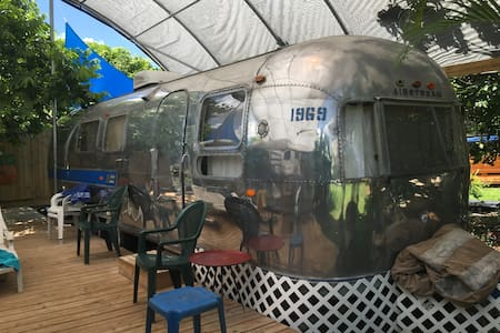 Vintage Airstream near Everglades - Хомстед