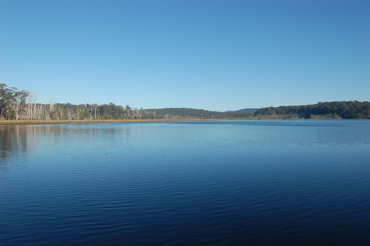 Durras Lake - just down the road. Great for kayaking, fishing or walking on the trails next to the lake
