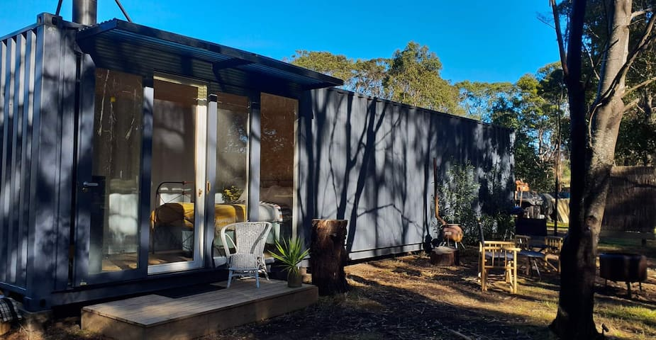 Book Now for Sept Spring Rustic Shipping Container