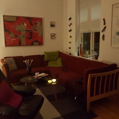 2 værelses lejlighed.
