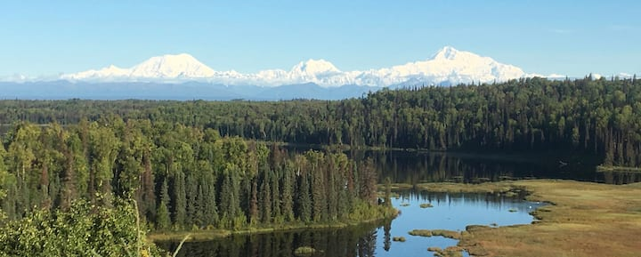 Far View, Talkeetna Home with a View
