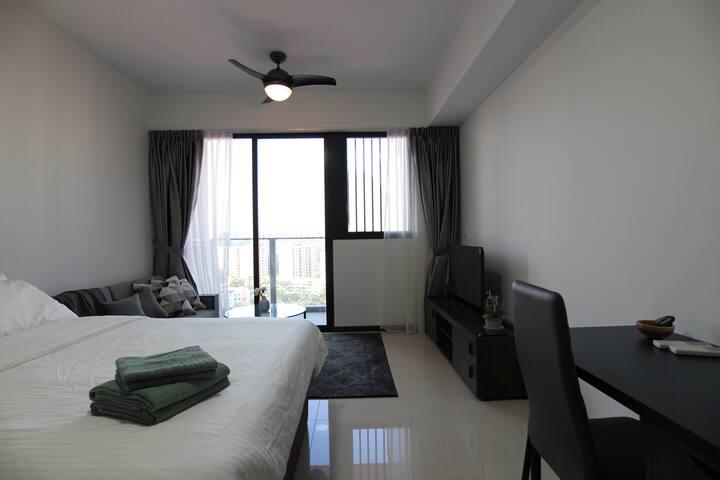 Pleasant & Comfy Studio APT near Potong Pasir MRT