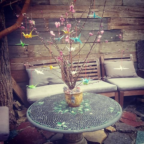 Private Bushwick Loved Room with a Sacred Garden - Brooklyn - Apartment
