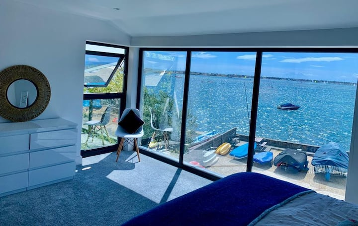 Rare waterside property with stunning views