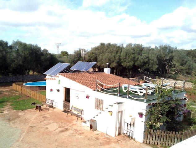 La casita de 'Sa Mitjera' - Sant Lluís - Dům
