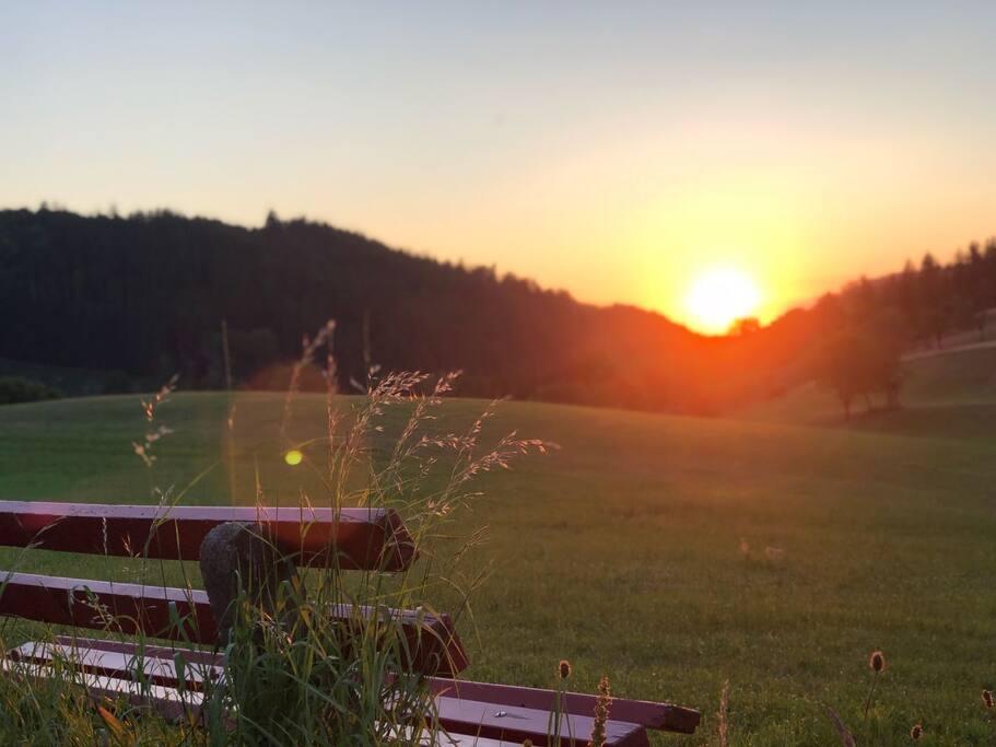 Abend Stimmung im Sommer