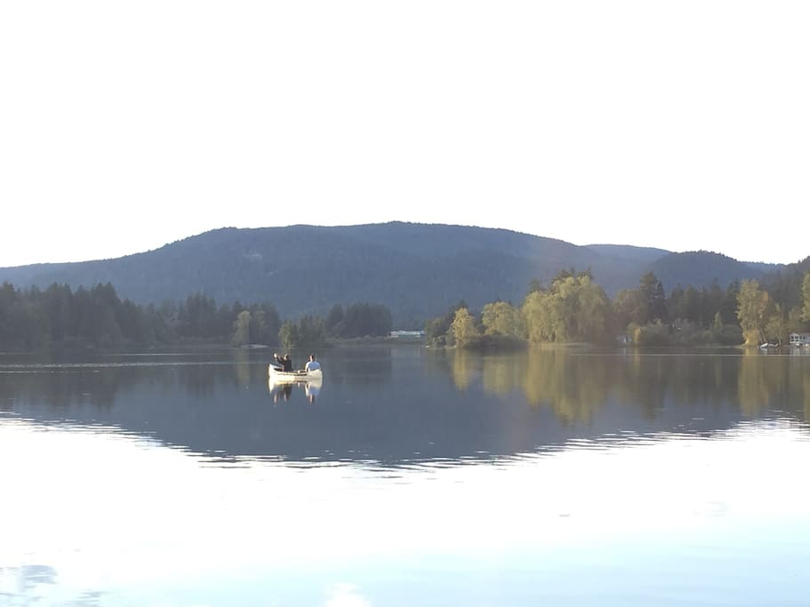 Nice calm day for fishing!