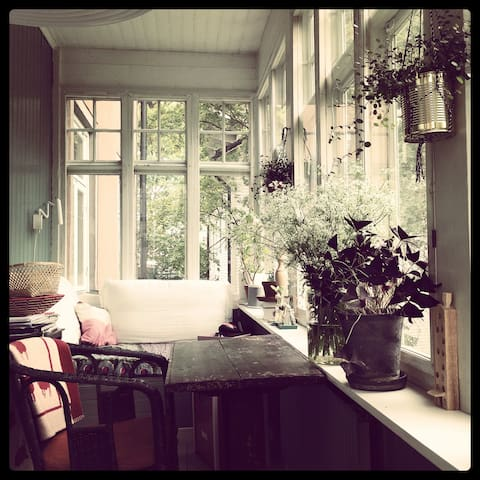 Dreamy apartment in Gröndal, close to Södermalm - Stockholm - Appartement