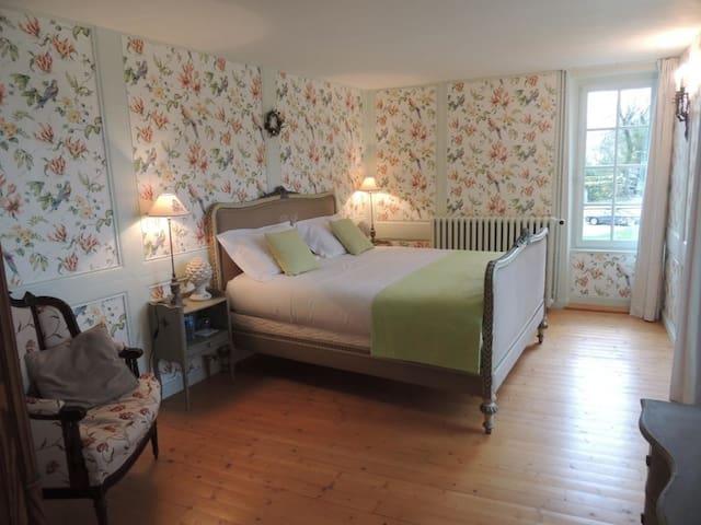 Hôtel de Guerpel - Chambre Verte - Exmes - Dům pro hosty
