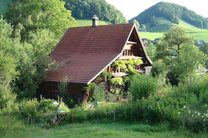 Haus im Grünen für Naturliebhaber und Romantiker - Krinau - In-law